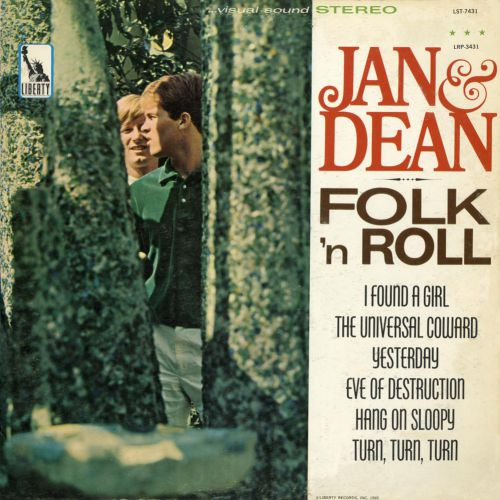 Jan & Dean 'Folk 'n' Roll' courtesy of Harvey Williams