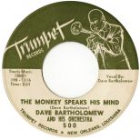 Dave Bartholomew & His Orchestra 'The Monkey Speaks His Mind'