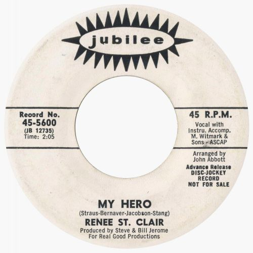 Renee St Clair 'My Hero'