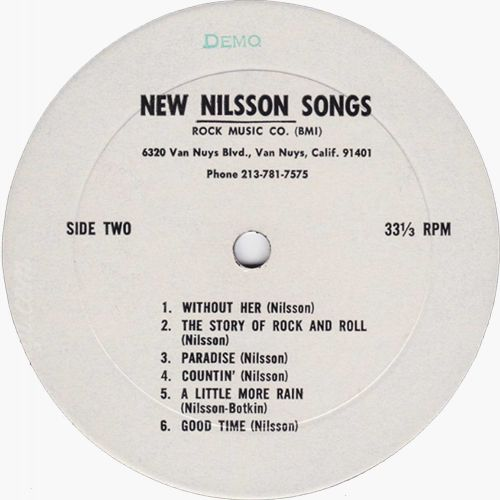 New Nilsson Songs Demo