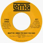Linda Jones 'What've I Done (To Make You Mad)'