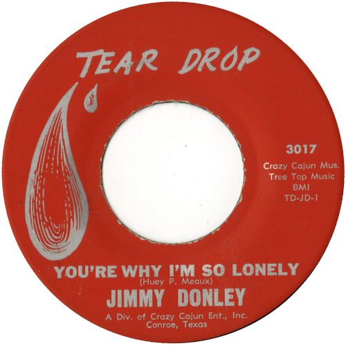 Jimmy Donley 'You're Why I'm So Lonely' courtesy of Tony Rounce