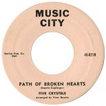 Five Crystels 'Path Of Broken Hearts'