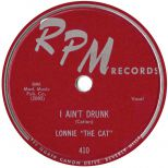 Lonnie The Cat 'I Ain't Drunk'