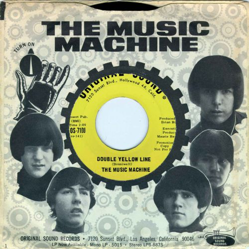 The Music Machine 'Double Yellow Line'