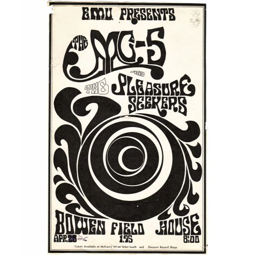 The MC5 poster