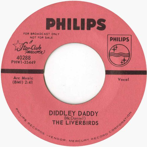 The Liverbirds 'Diddley Daddy' courtesy of Mick Patrick