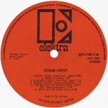 Clear Light LP label