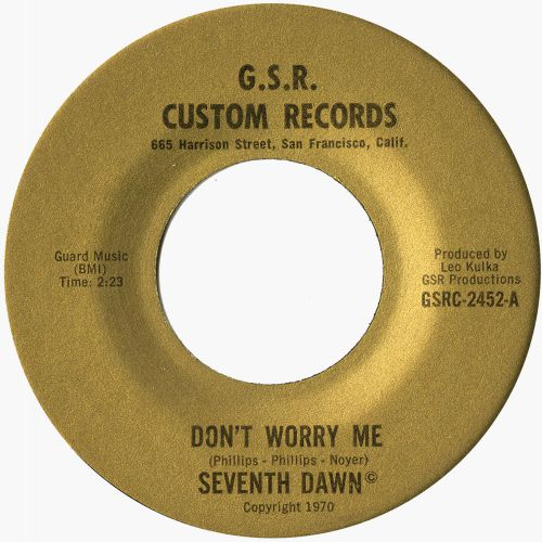 The Seventh Dawn 'Don't Worry Me'