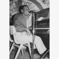 Champion Jack Dupree with TS McPhee
