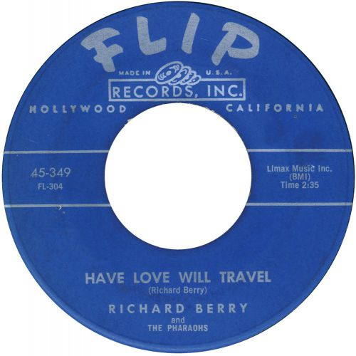Richard Berry 'Have Love Will Travel'