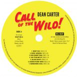 Call Of The Wild LP label side 2