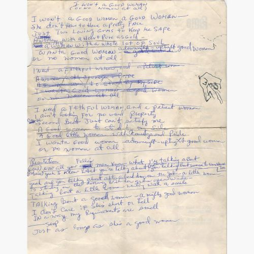 Dan Penn 'I Won't A Good Woman' lyrics