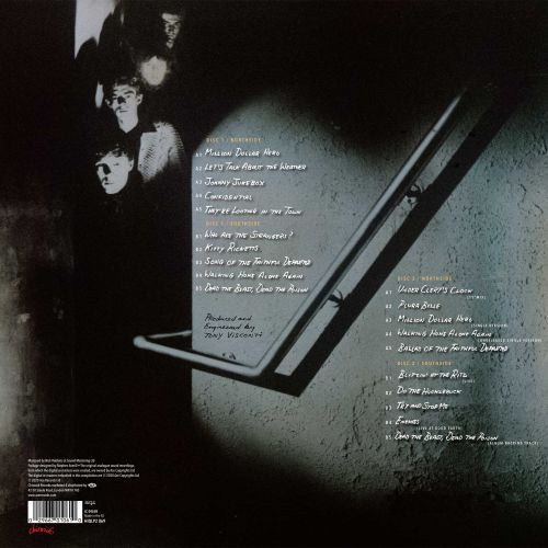 """Ghostown"" LP Back"