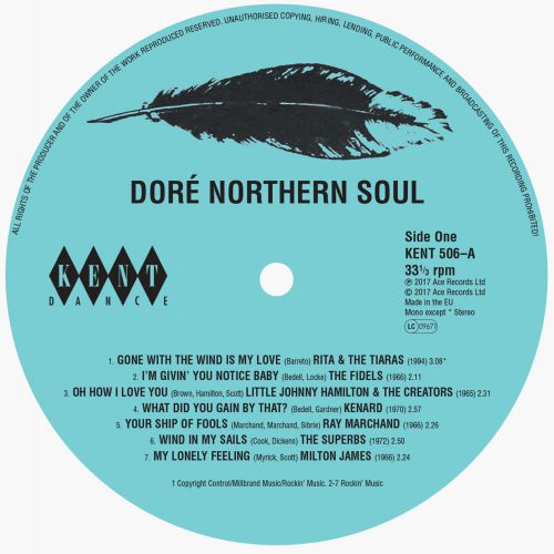 Doré Northern Soul (Side 1 Label)