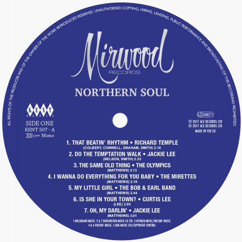 Mirwood Northern Soul Side A