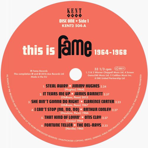 This Is Fame 1964-1968 side1