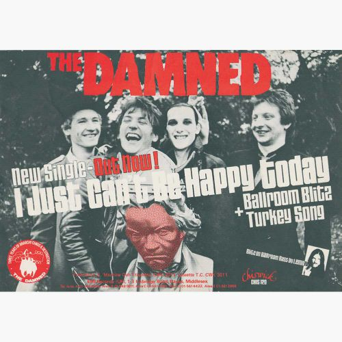 The Damned Chiswick Singles