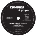 ZOMBIES A Go Go EP label  side 1