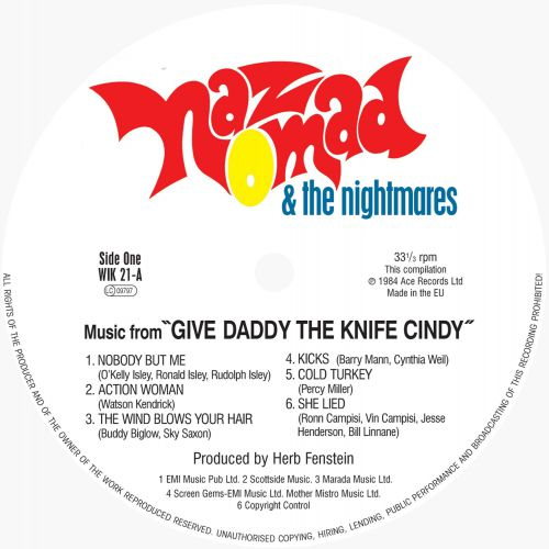 Give Daddy The Knife Cindy side 1