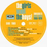 The Girls Want The Boys! Sweden's Beat Girls 1966-1970 side 2