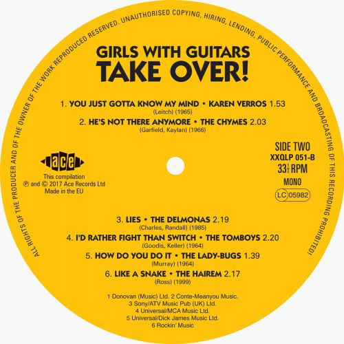 Girls With Guitars! Label