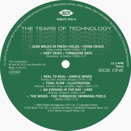 Tears Of Technology Side One