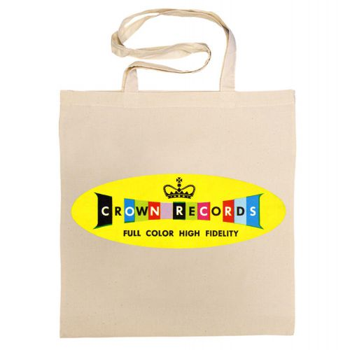 Crown Records 'Lozenge' Cotton Bag