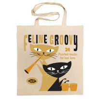 Feline Groovy Cotton Bag