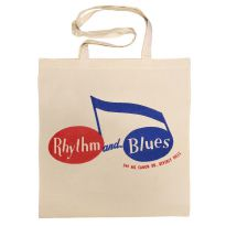 Rhythm and Blues Records Cotton Bag