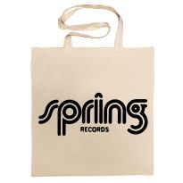 Spring Records Cotton Bag