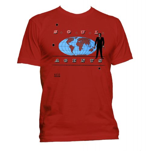 Soul Agents T Shirt Red [40]