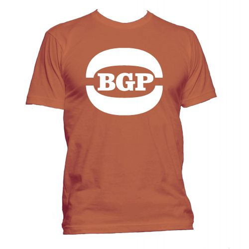 BGP Logo T Shirt Texas Orange [25]