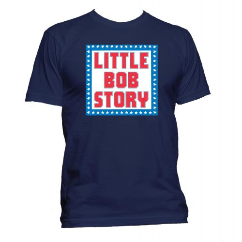 Little Bob Story T Shirt Navy [32]