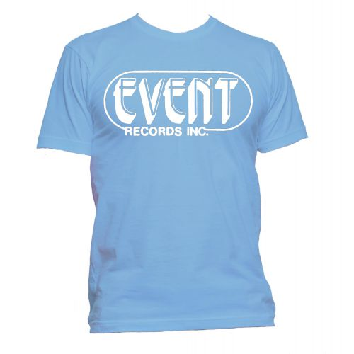 Event Records Inc. T Shirt Carolina Blue [109]