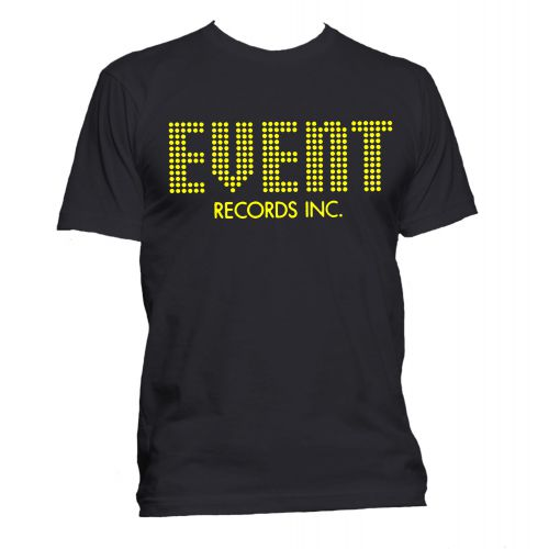 Event Records T Shirt Black [36]