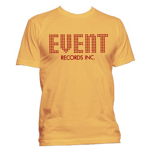 Event Records T Shirt Gold [24]