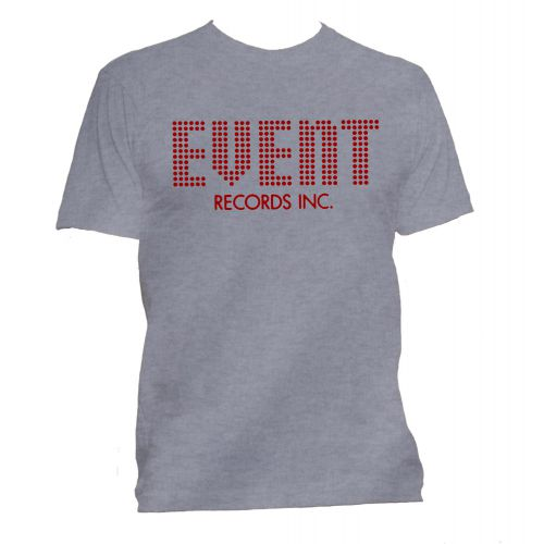 Event Records T Shirt Sport Grey [95]