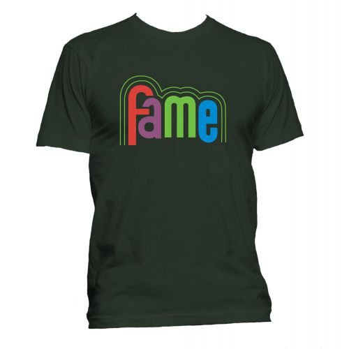 FAME Logo T Shirt Forest Green [33]