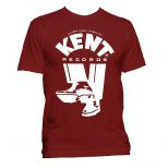 Kent Records 'Shoes' T Shirt Cardinal Red [11]
