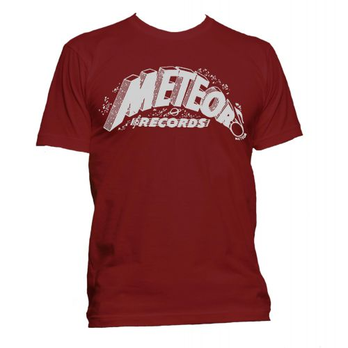 Meteor Records T Shirt Cardinal Red [11]