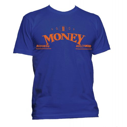 Money Records, Hollywood T Shirt Royal Blue [51]