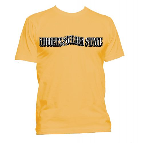 Nuggets from the Golden State T Shirt Gold [24]