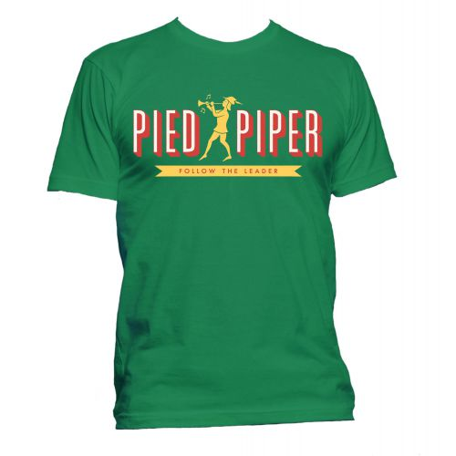 Pied Piper T Shirt Irish Green [167]