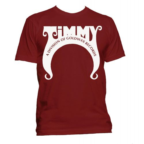 Timmy Records T Shirt Cardinal Red [11]