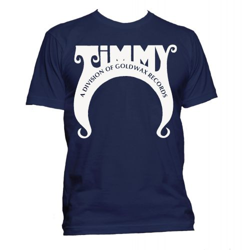 Timmy Records T Shirt Navy [32]