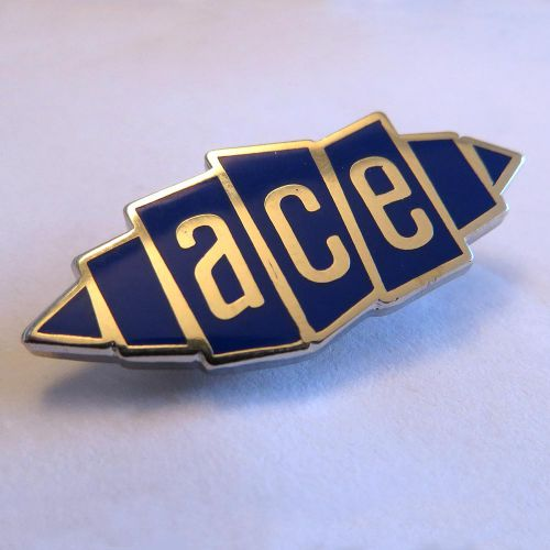 Ace Records Gomm Badge