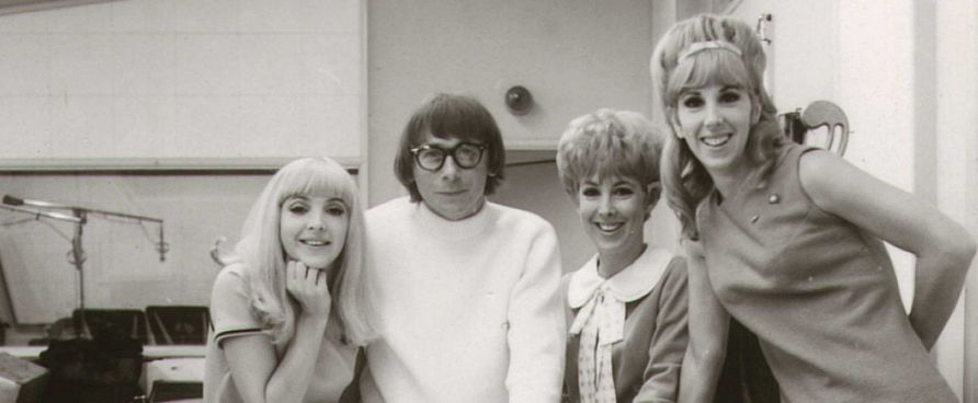 Jack Nitzsche with the Paris Sisters