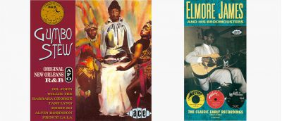 Gumbo Stew and Elmore James Box Set Sleeves