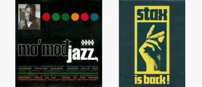 Mo' Mod Jazz CD Sleeve and Stax is Back Poster